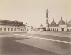 Inside [Great] Imambara [compound], Lucknow.